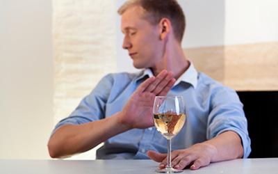 Полный отказ от спиртного накануне - Квинмед