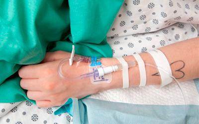 Внутривенное введение противоалкогольного препарата - Квинмед