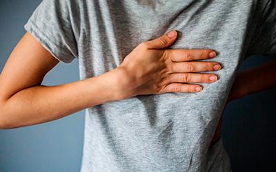 Ощущения сдавленности в груди - Квинмед