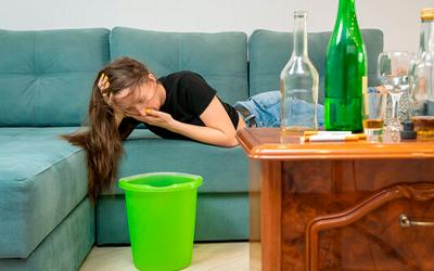 Алкогольный токсикоз - Квинмед